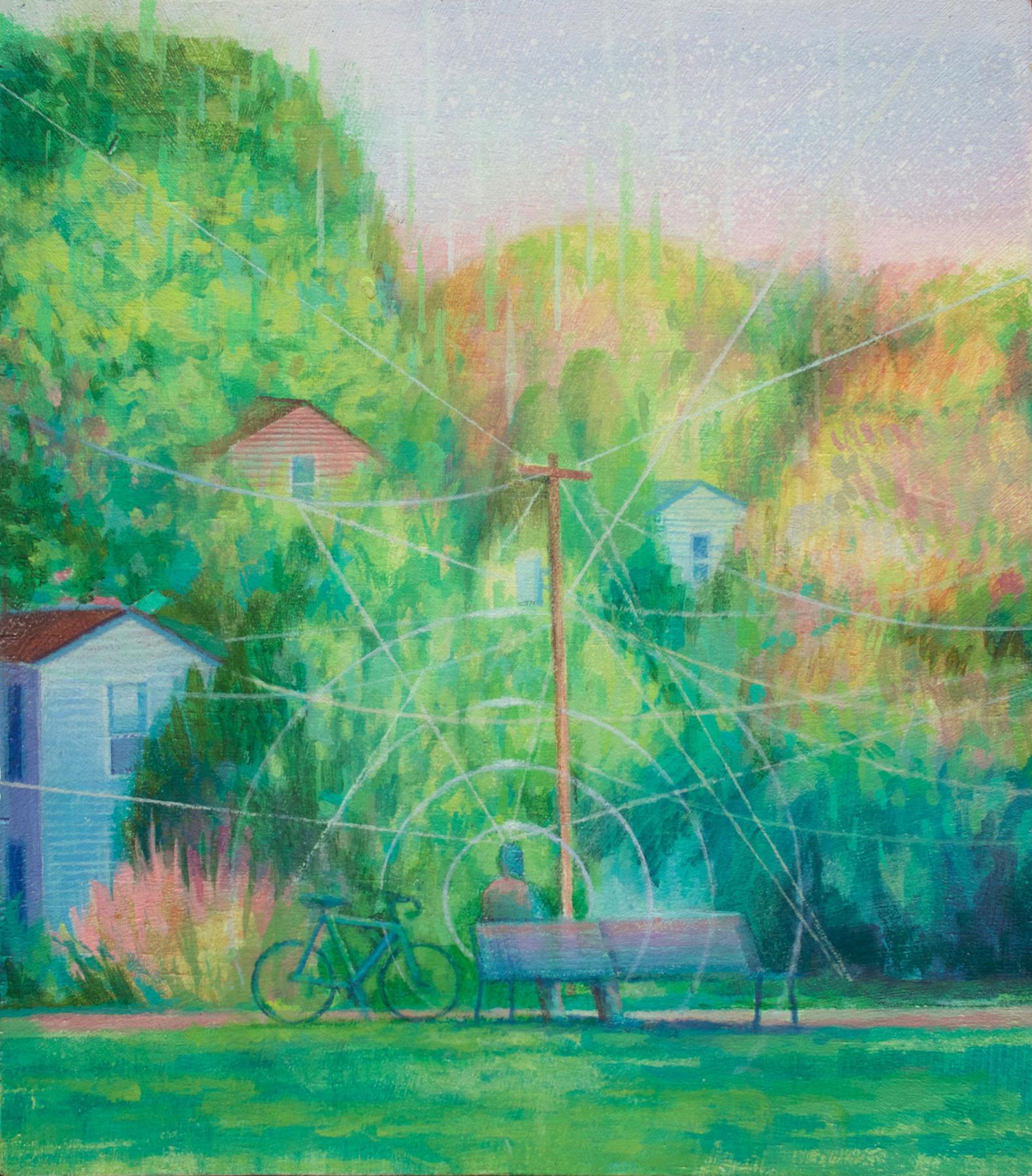 Eli McMullen Thinking acrylic on panel 8_x9_ $600 2017.jpg