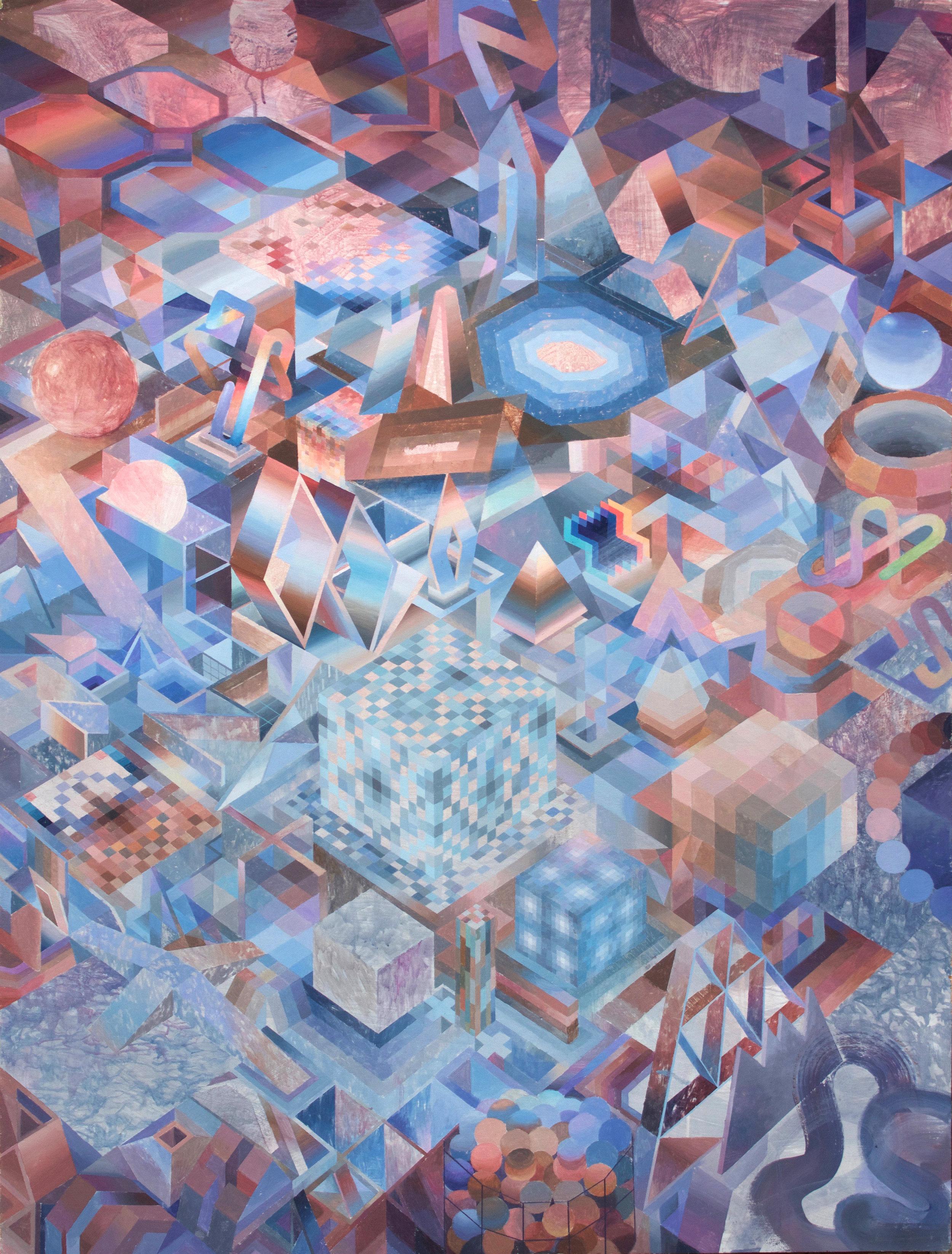 Eli McMullen Space Garden acrylic on panel 36 in. x 48 in. $2500 2016.jpg