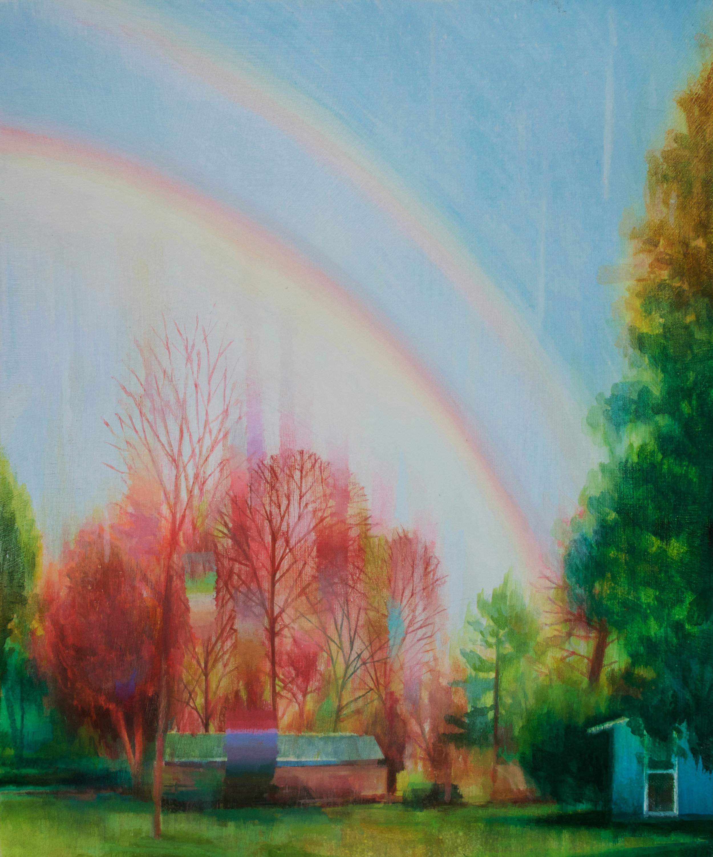 Eli McMullen Carolyn's Rainbow acrylic on panel 12_x15_ 2017 NFS.jpg