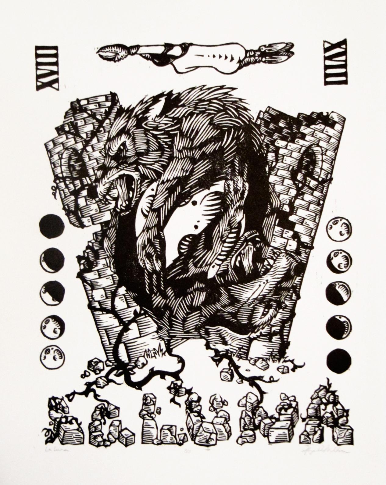 Abigail Wilson, La Luna, Wood Block Print, $225 PROMO.jpg