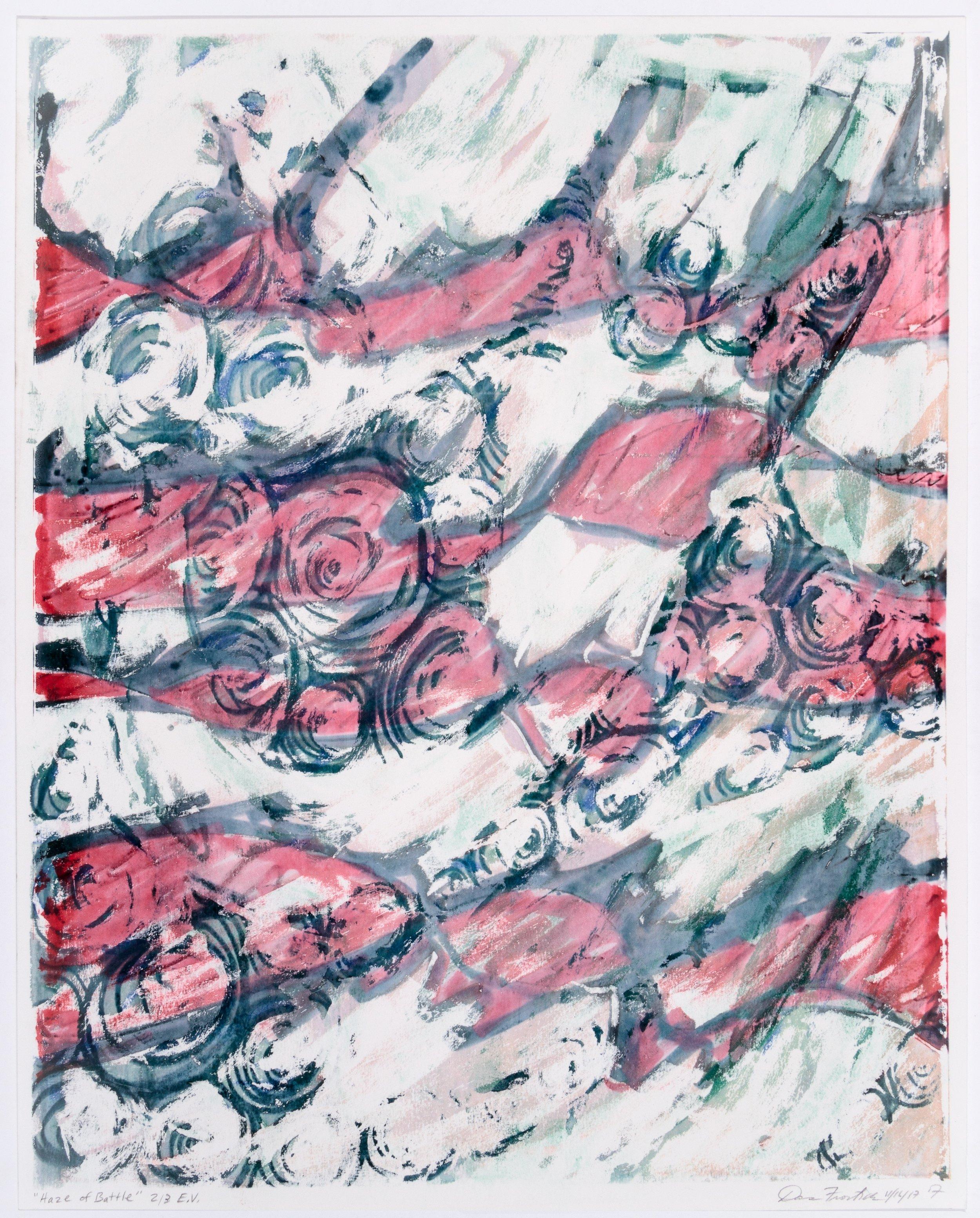 Dana Frostick, Haze of Battle, Monoprint, 20 x 16 in., $95 (1).jpg