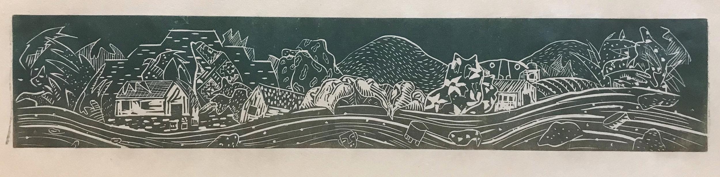 Luis Navas-Reyes, untitled, Relief, 8.5 x 20.5 in., $160 PROMO.jpg