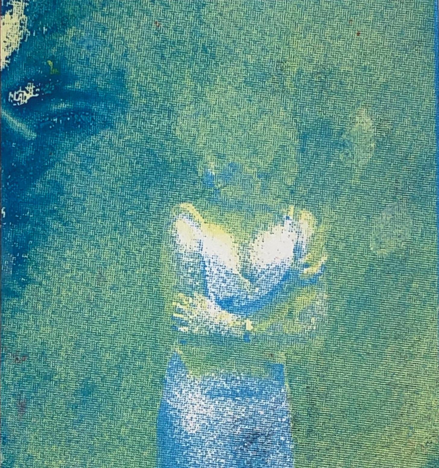 Diana Vasquez Becerra, Goosebumps, Screenprint on Paper, 5 x 4.5 in., $20 (1).jpg