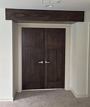 Private Master Suite entrance.