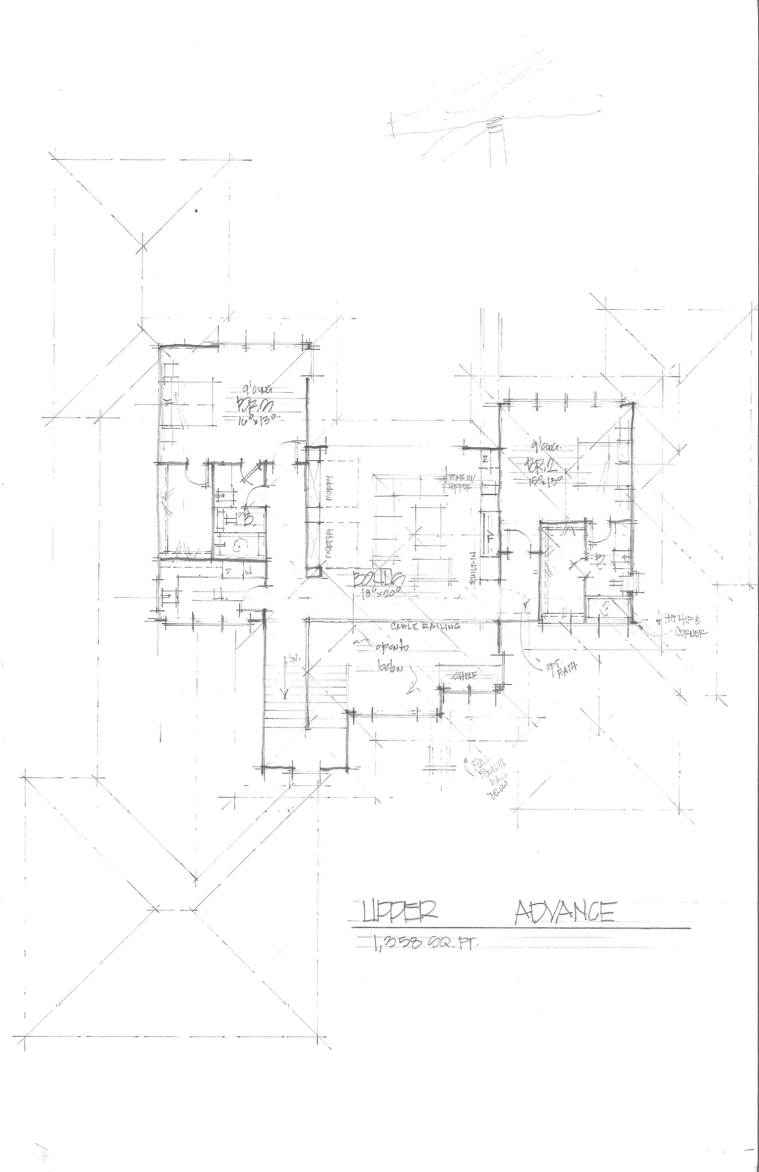 Upper Floor Drawing