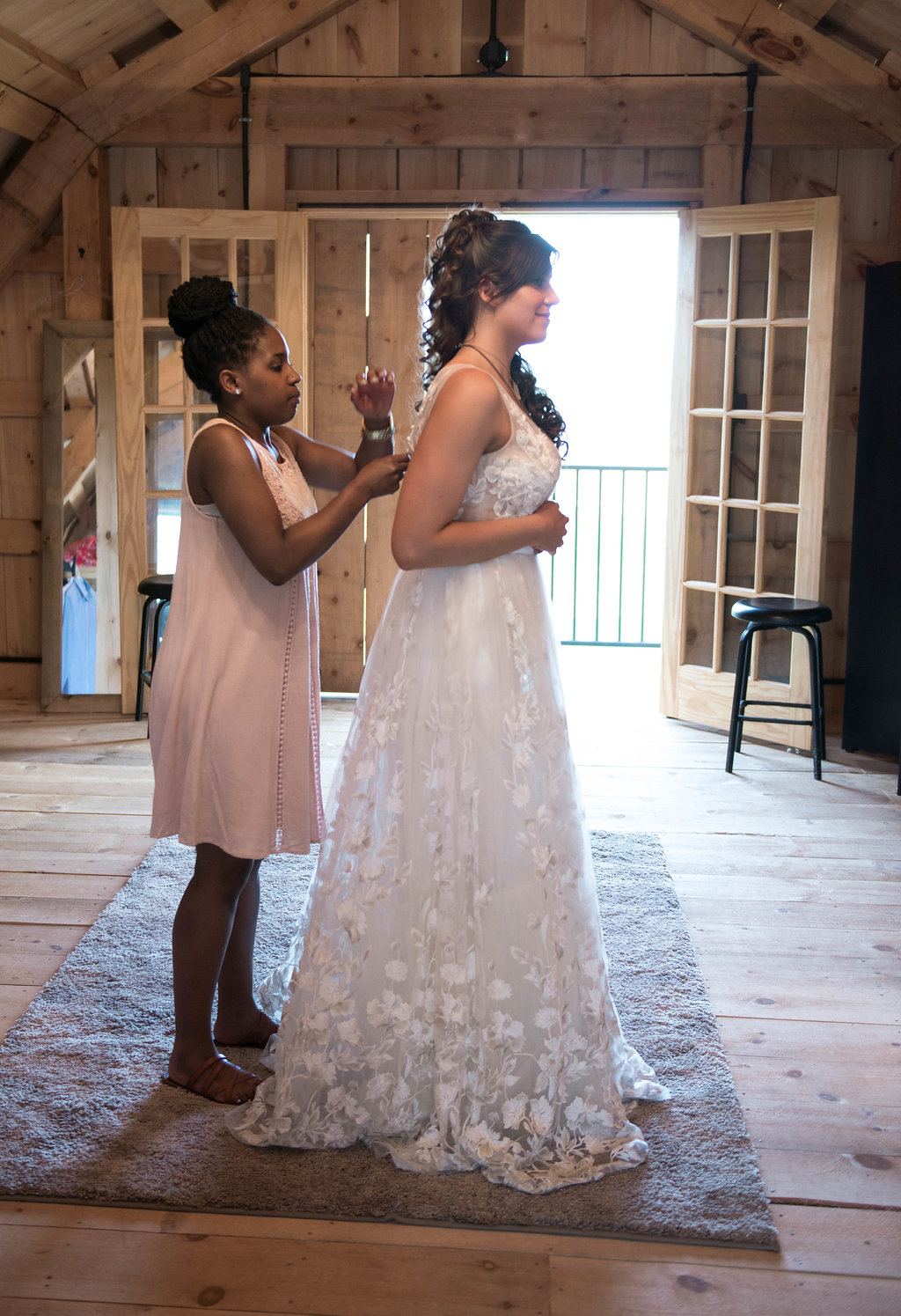 Detroit Bridal House - Hi! I'm Kristin, the owner and creative director of Detroit Bridal House. That's me in the photo on the left, pretending to be a fairy-godmother. Detroit Bridal House is a little girl's dream come true. I always dreamt of opening a bridal shop that fed the creative soul, but was also a comfortable and enjoyable experience.Shopping at Detroit Bridal House is more than shopping for a wedding gown, it's a Detroit experience. Shopping at Detroit Bridal House is time spent with family and friends and making memories that will last a lifetime. The collections carried in Detroit Bridal House are unique and fresh, which makes shopping just a little more fun!I can't wait to meet you!