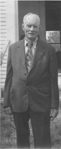 Perkins Flint in 1966. From the Flint-Duclos Family Collection.