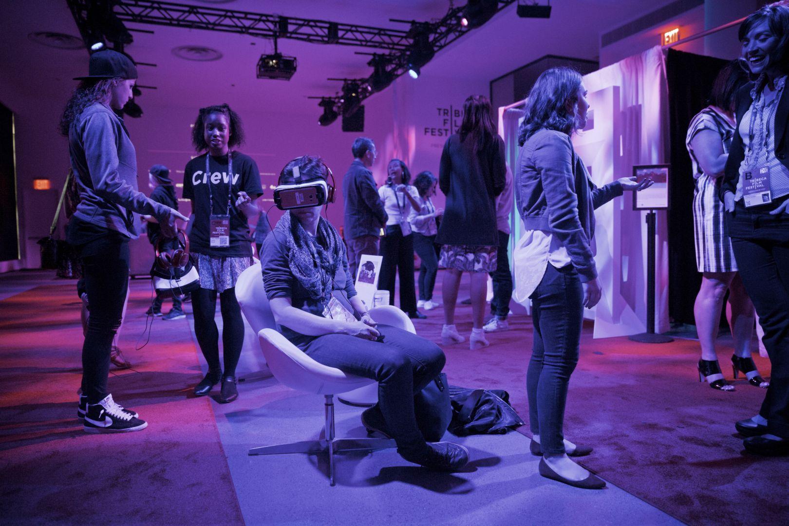 Tribeca Film Festival Virtual Arcade, NYC