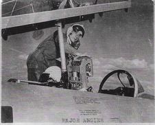 Francis in the Vermont Air National Guard circa 1950