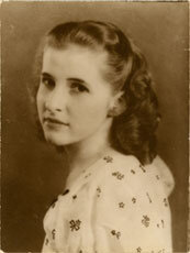 Kim's mother,  Claire Bouffard Chase