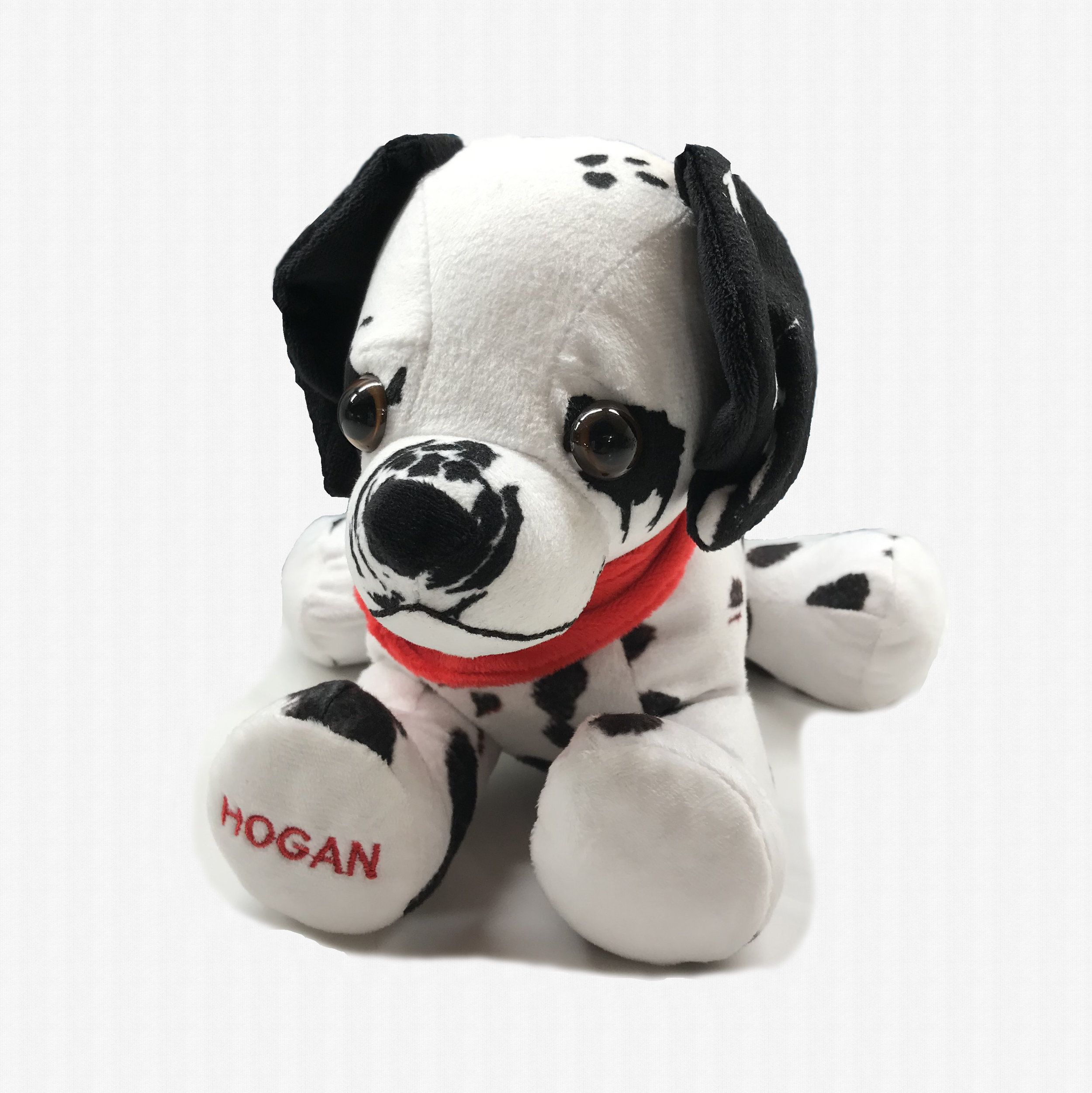 Stuffed toy designed to look like Hogan himself will be available for children!