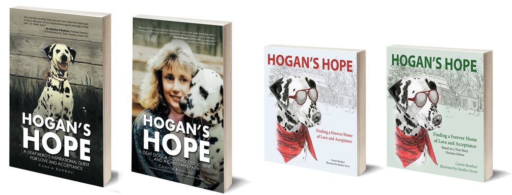 All Hogan's Hope books will be available for purchase along with a specially designed stuffed dog who looks like the famous Hogan. Personalized books make fantastic gifts, especially with the holiday quickly arriving.