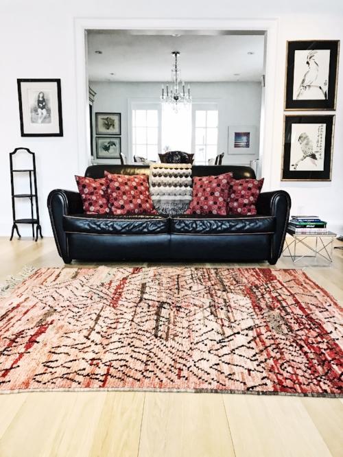 Moroccan Rug or Japanese Woodblock print?