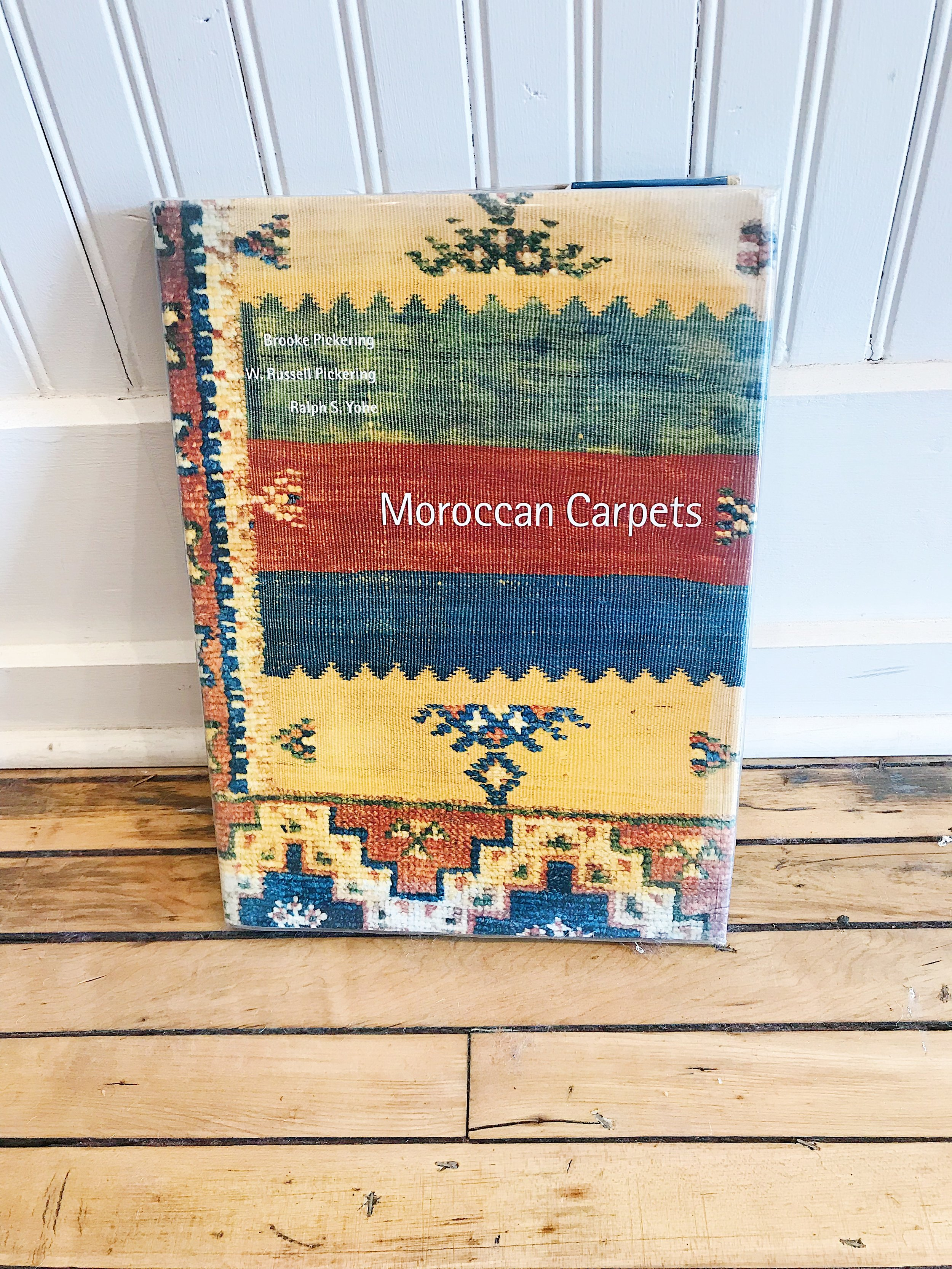 """""""Moroccan Carpets,"""" by Brooke Pickering, W. Russell Pickering, Ralph S. Yohe 1994"""