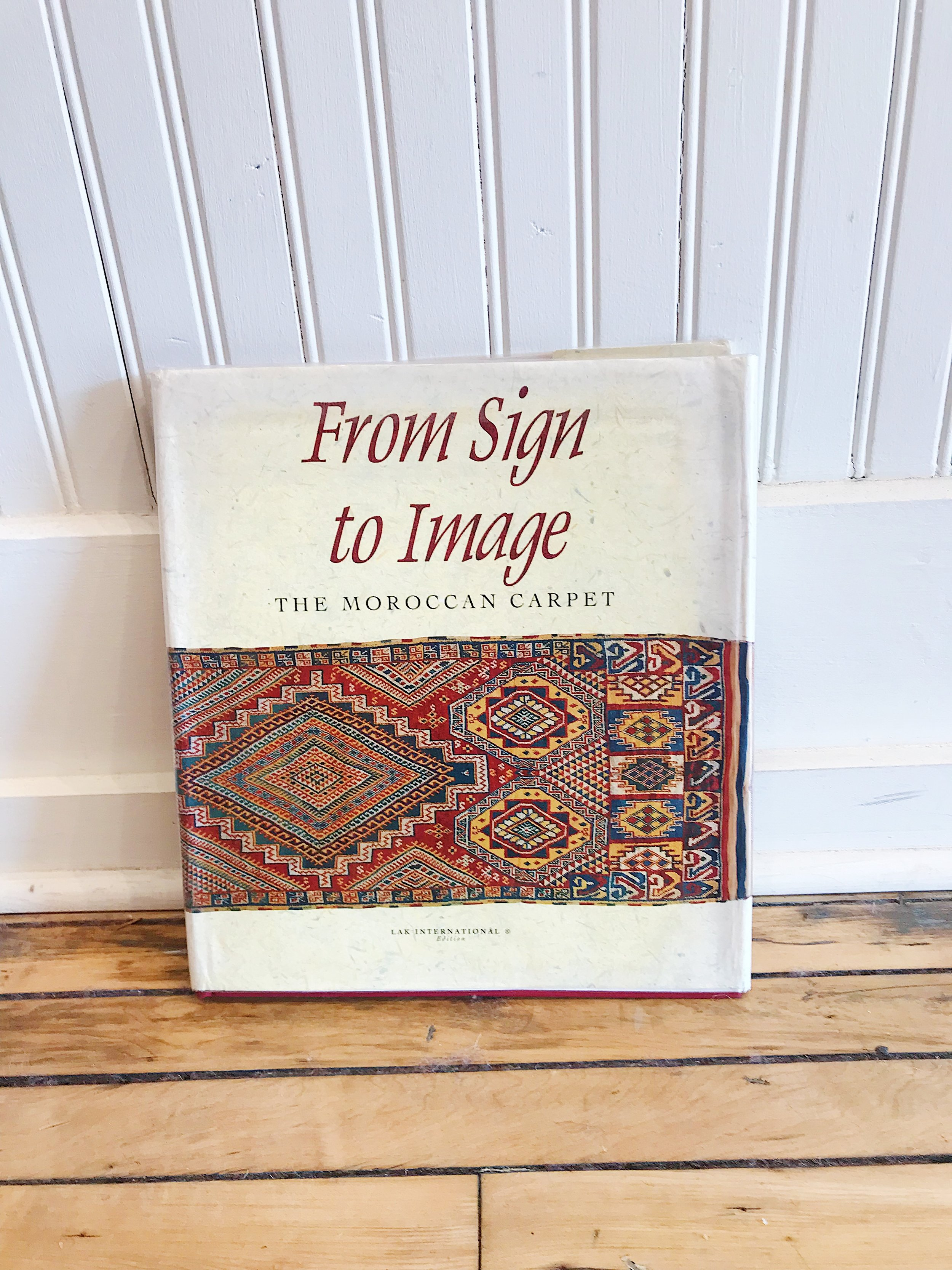 """""""From Sign to Image: The Moroccan Carpet,"""" by Abdelkebir Khatibi and Ali Amahan, 1994"""