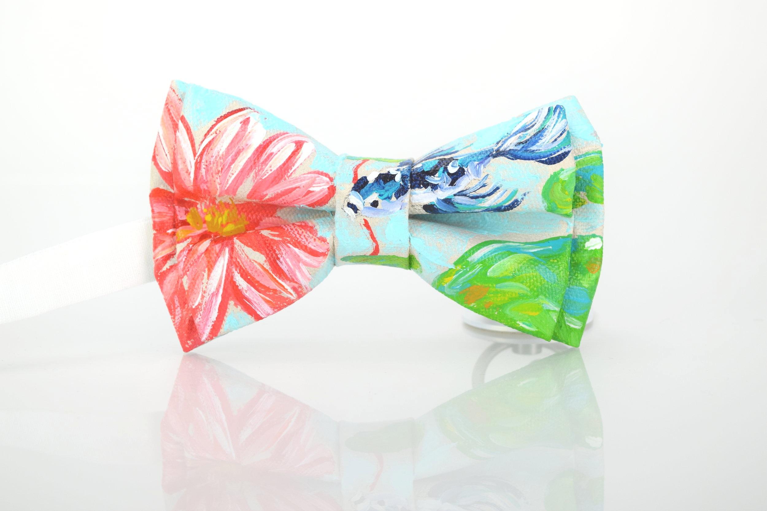 Danielle-Perry-VIVRE-Couture-Bow-Tie