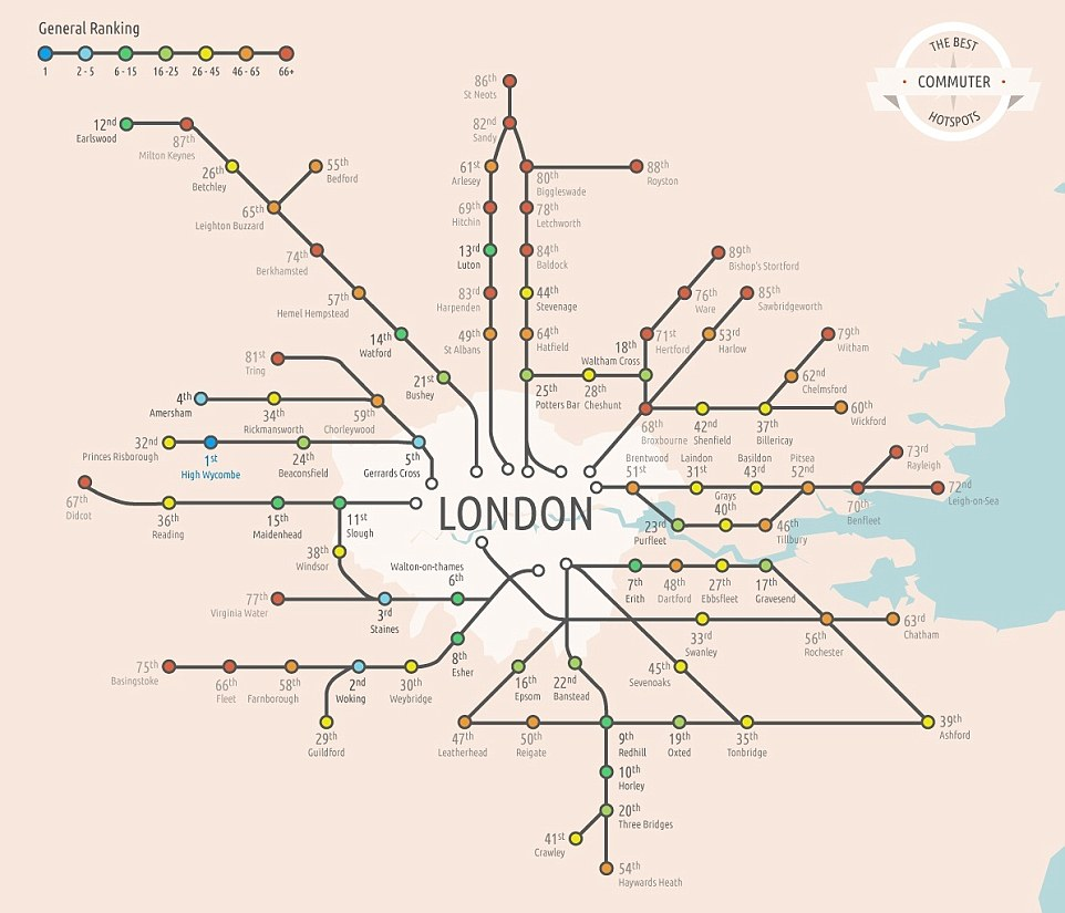 The best commuter hot spots for working in London