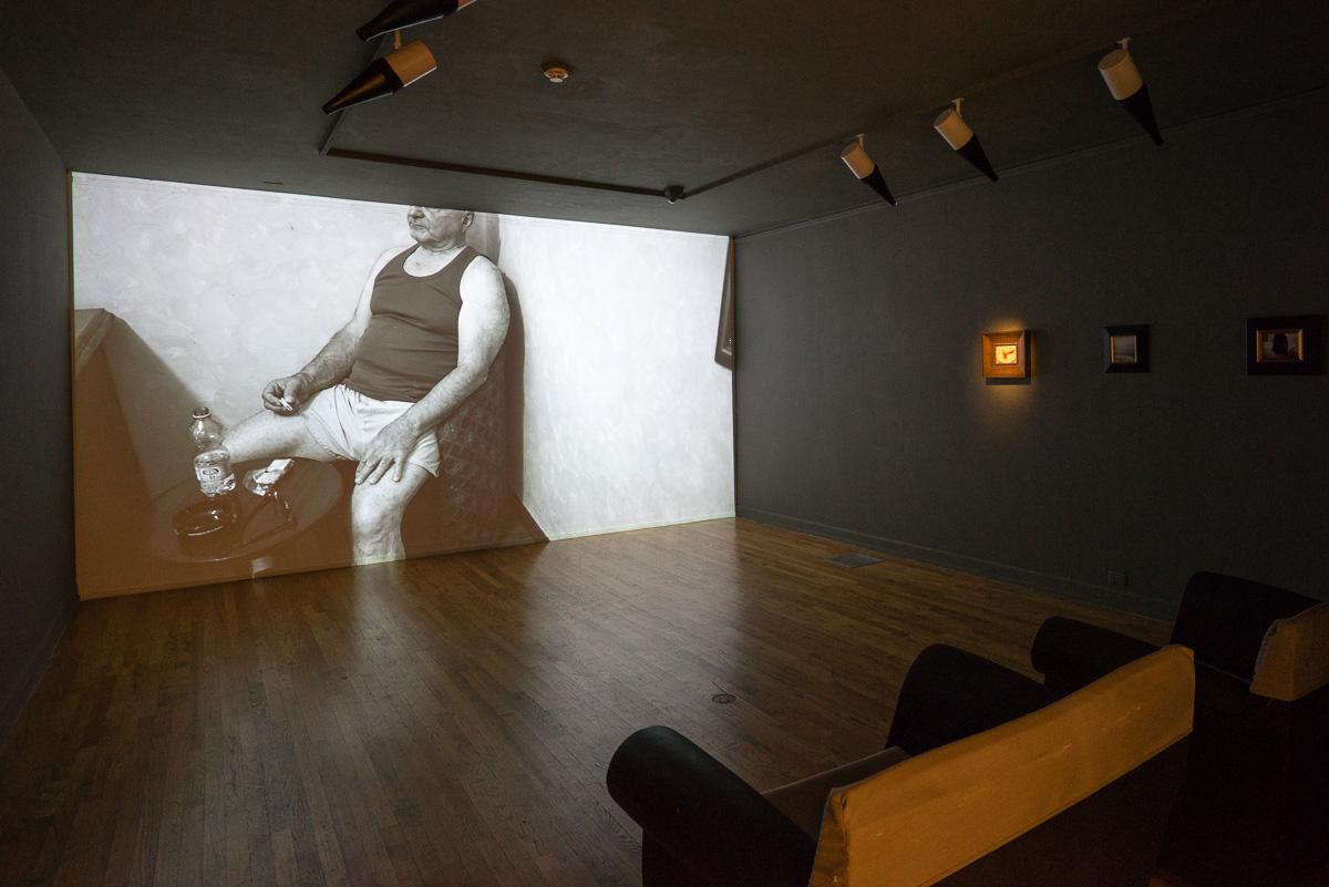 Motion &still photography interaction installation