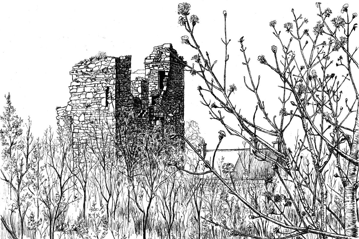 Spring at Castle Black         Price: $300