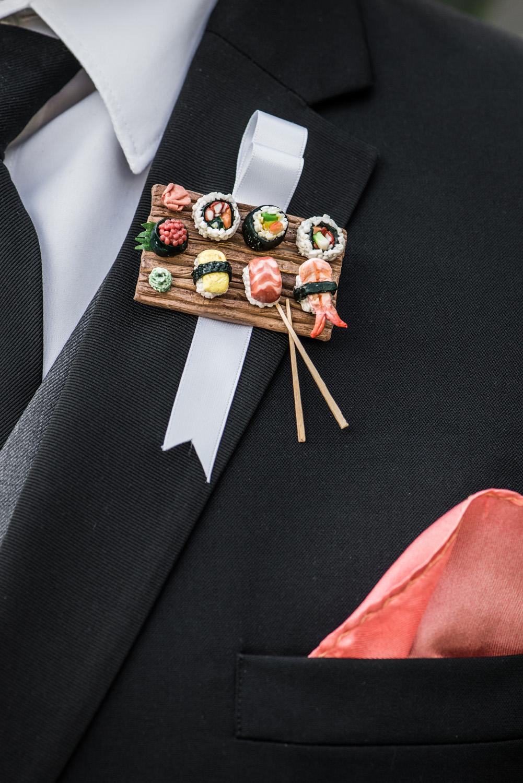 redlands_diy_realwedding_ boutonniere_sushi