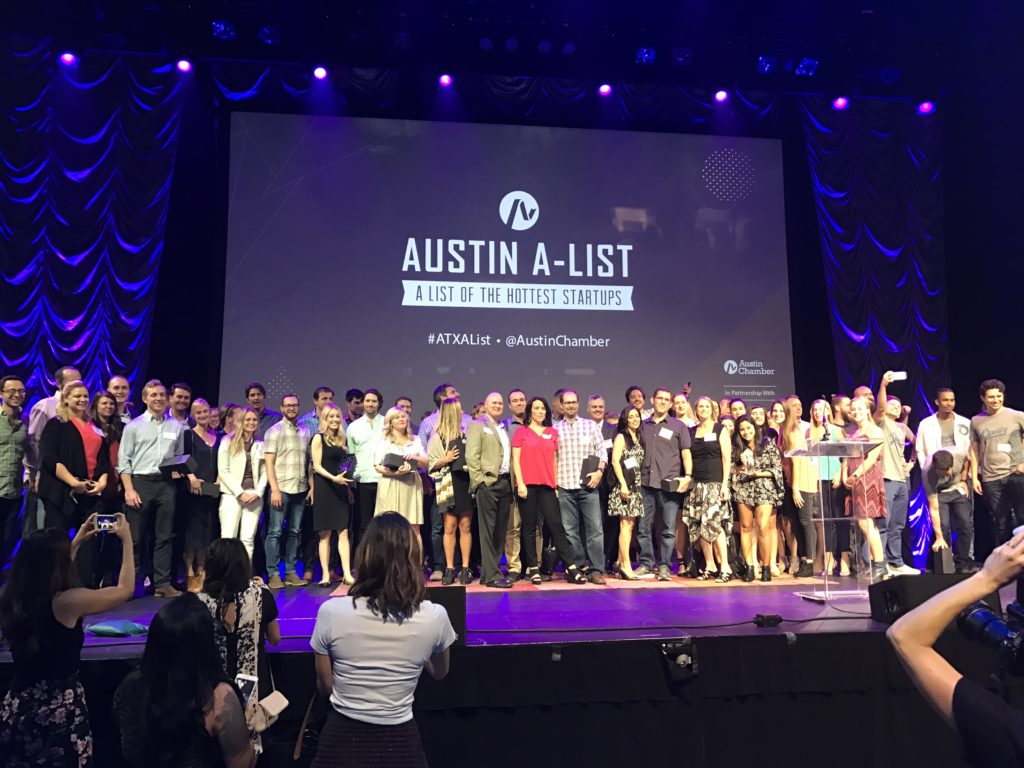 SiliconHills News - May 26, 2017 - Michael Smerklo Delivers Lightning Talk at Austin A-List of Hottest Startups