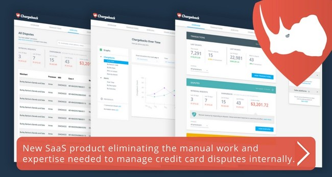 Press Release - December 20, 2017 - Chargeback Announces Launch of a New SaaS Product