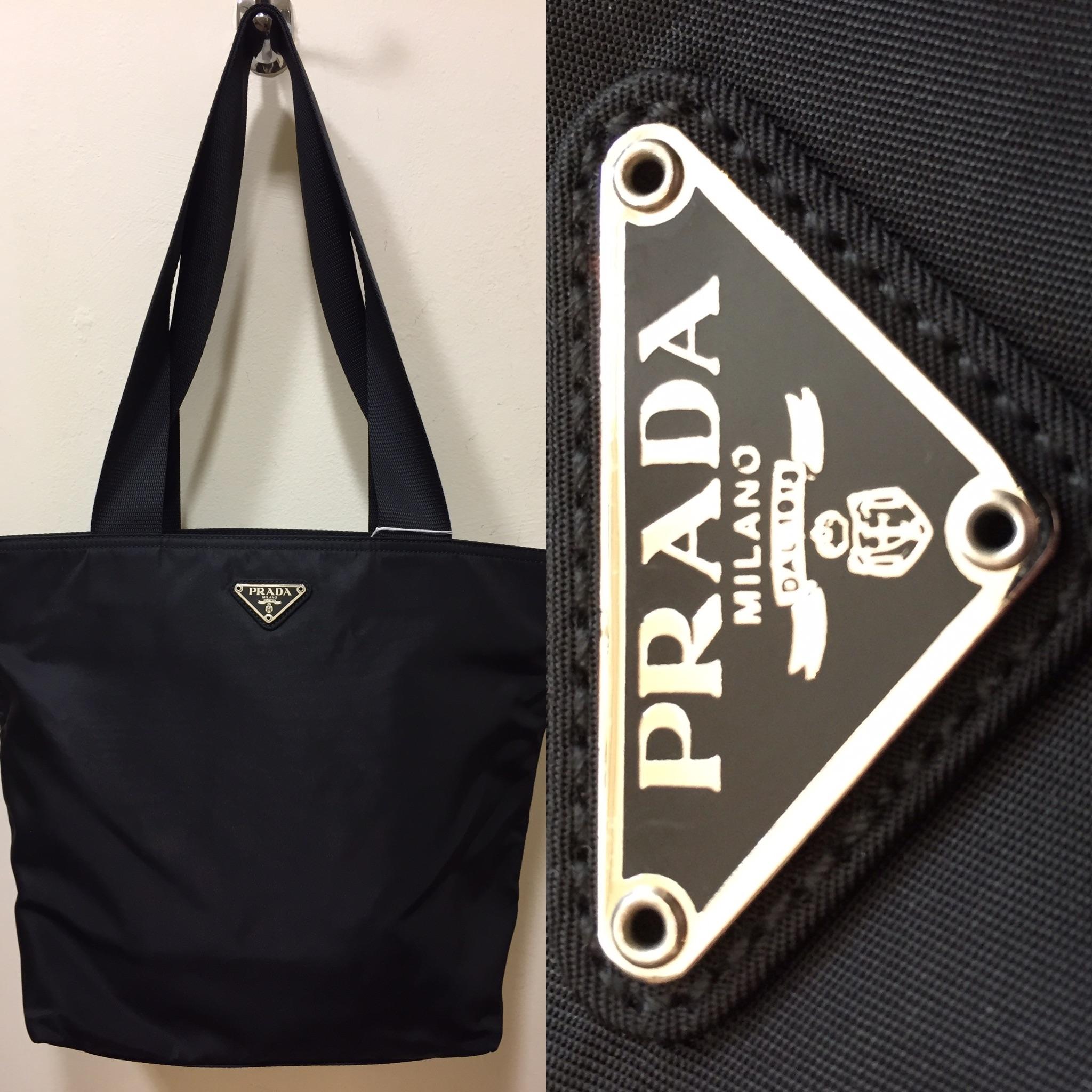 Black fabric Prada bag £199.jpg