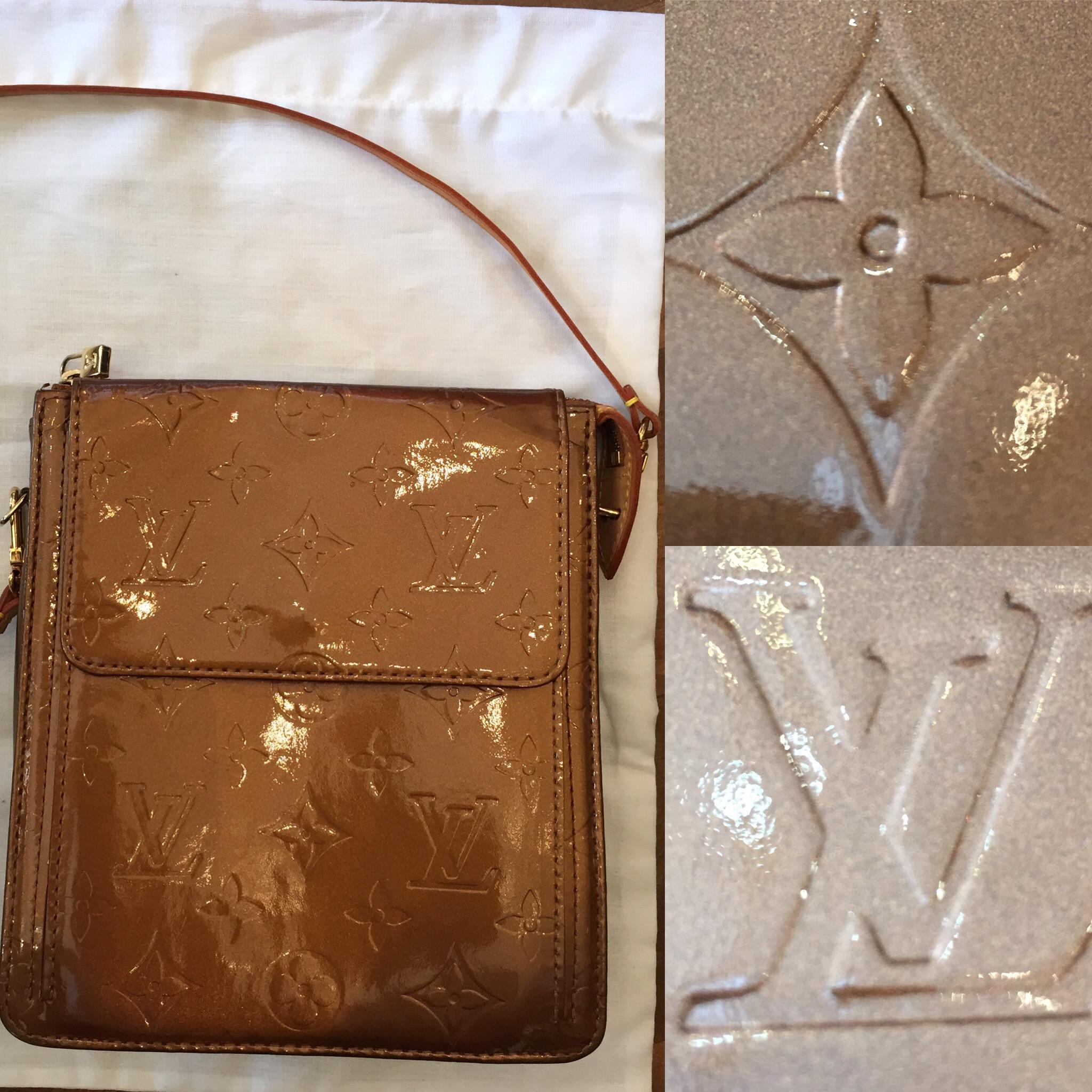 Louis Vuitton bronze bag £199jpg.JPG