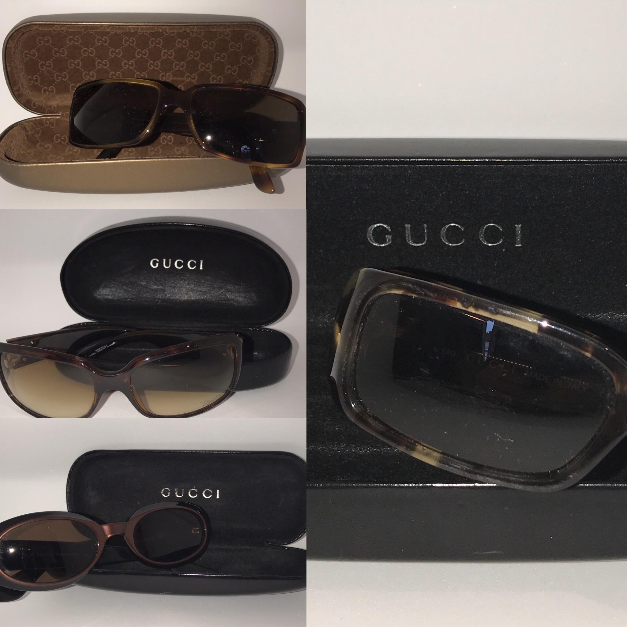 Gucci sunglasses £49 a pair.JPG