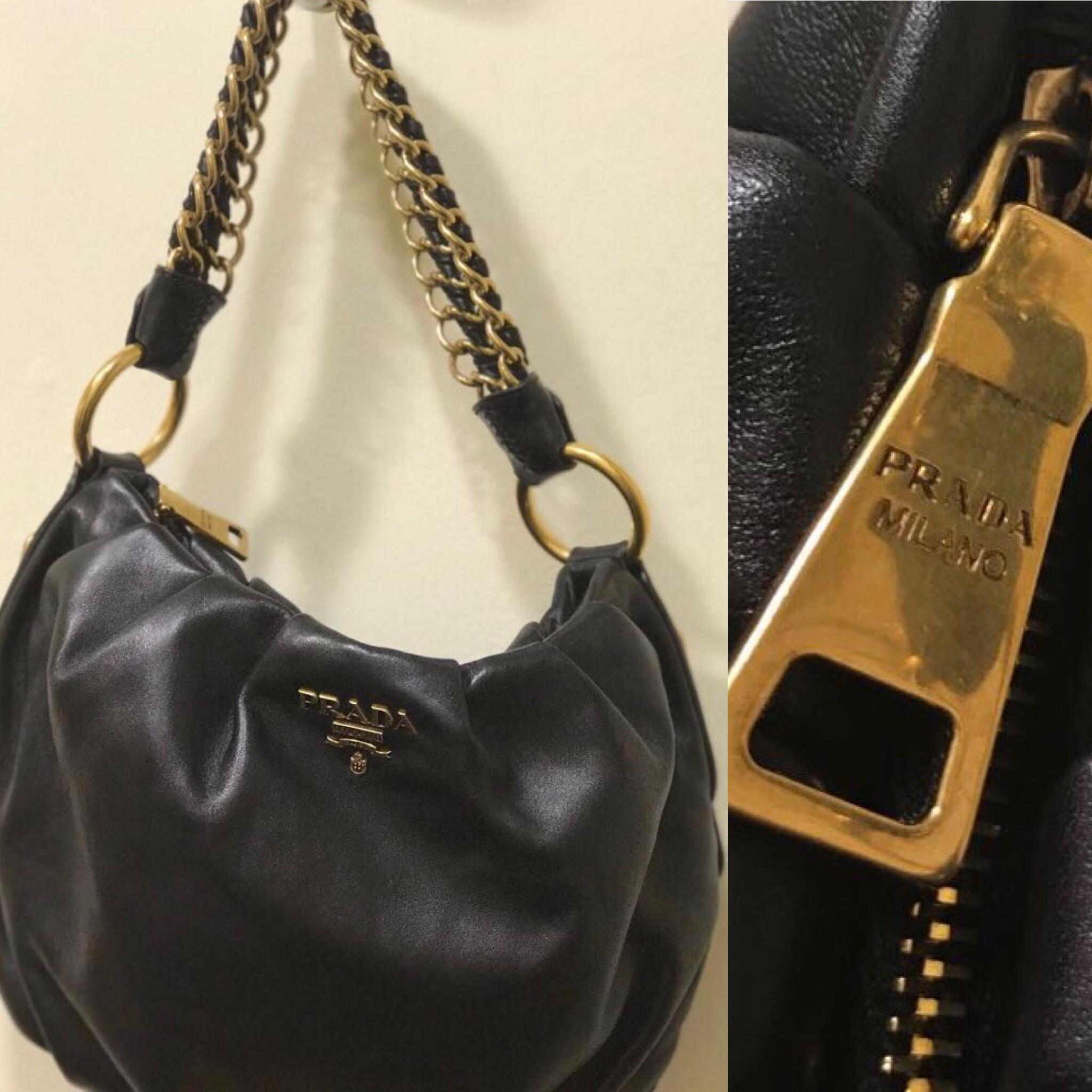 Prada bag. Gold hardware £299.JPG