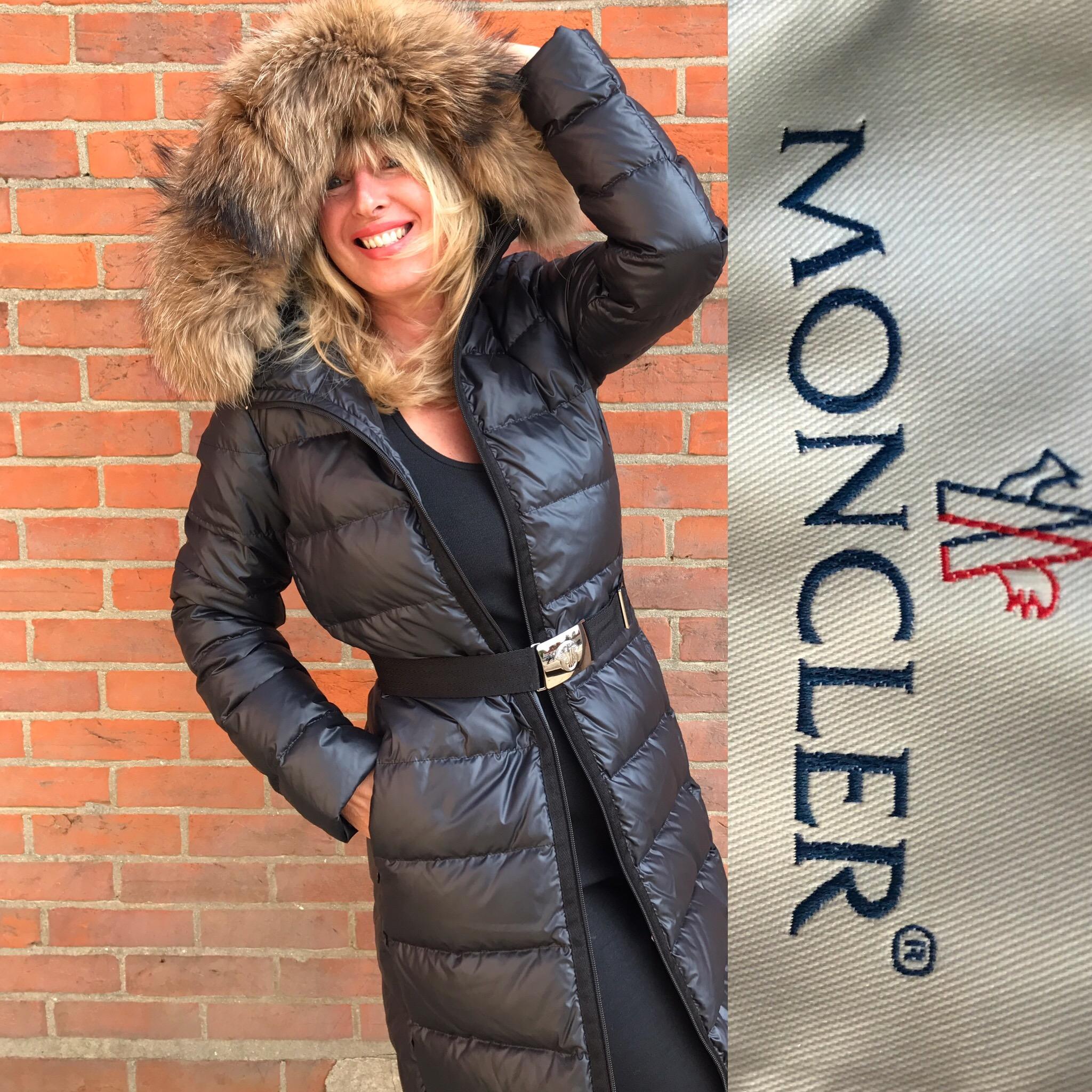 Moncler puffa coat size 2 £550.JPG