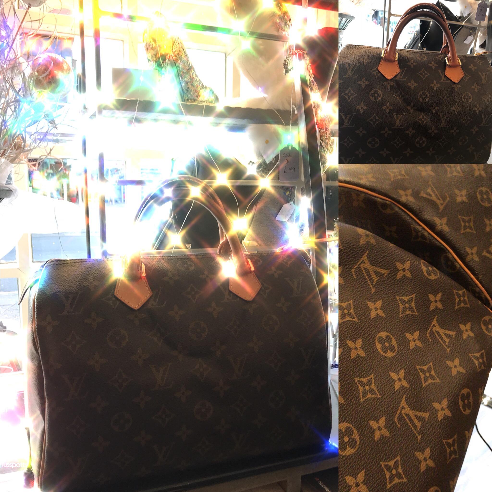 Louis Vuitton Speedy 30 bag in monogram £499.JPG