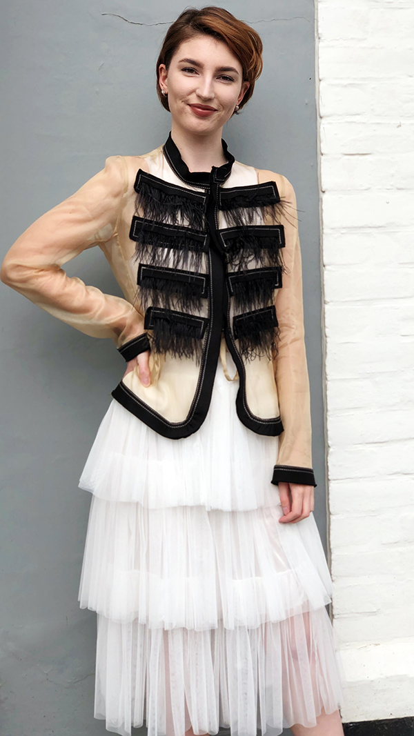 Rococo - Jacket. Size 12. £399.