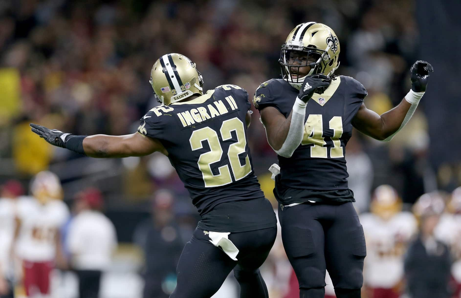 Kamara and Ingram put up huge numbers over the past years - and this year Ingram will be replaced by Murray.