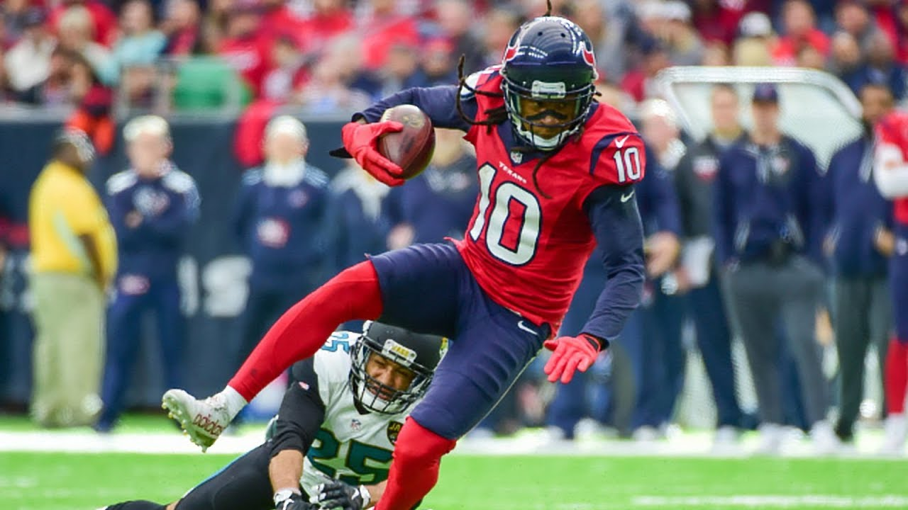 Deandre Hopkins averaged 2.5 yards of separation per attempt last year.