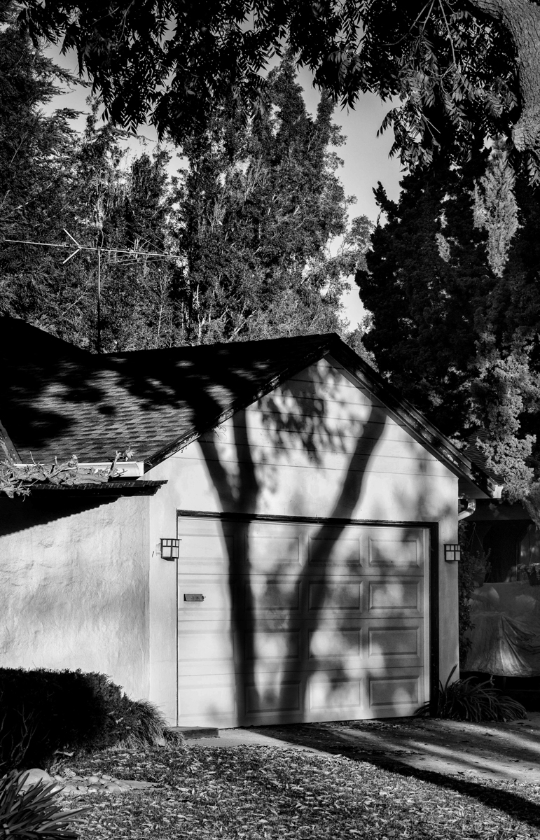 Shadow by the Garage
