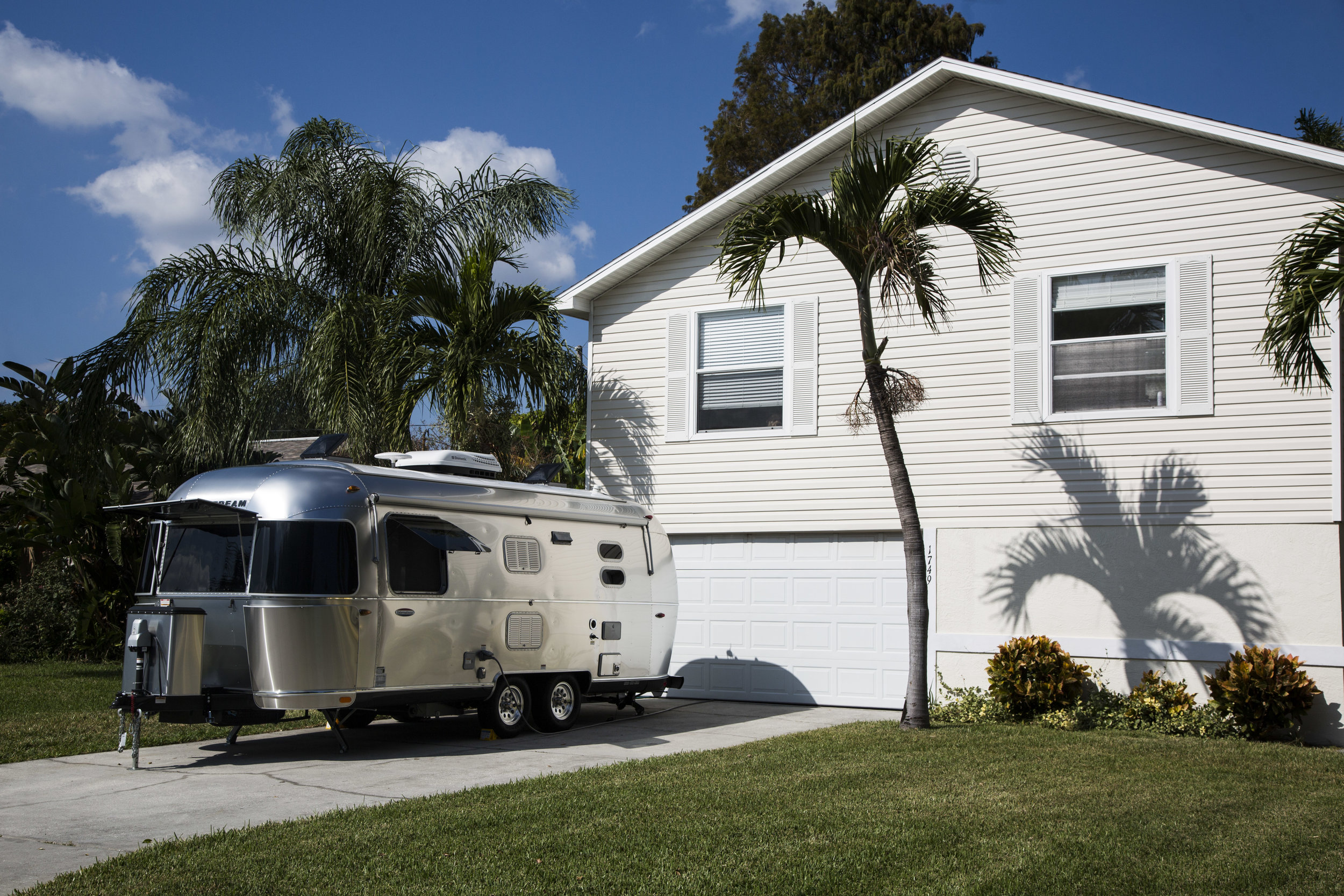 The GuestWings suite may look like an Airstream™ camper, but our units don't go camping. So they are kept spotlessly clean and feature the all the comforts of a nice hotel room.