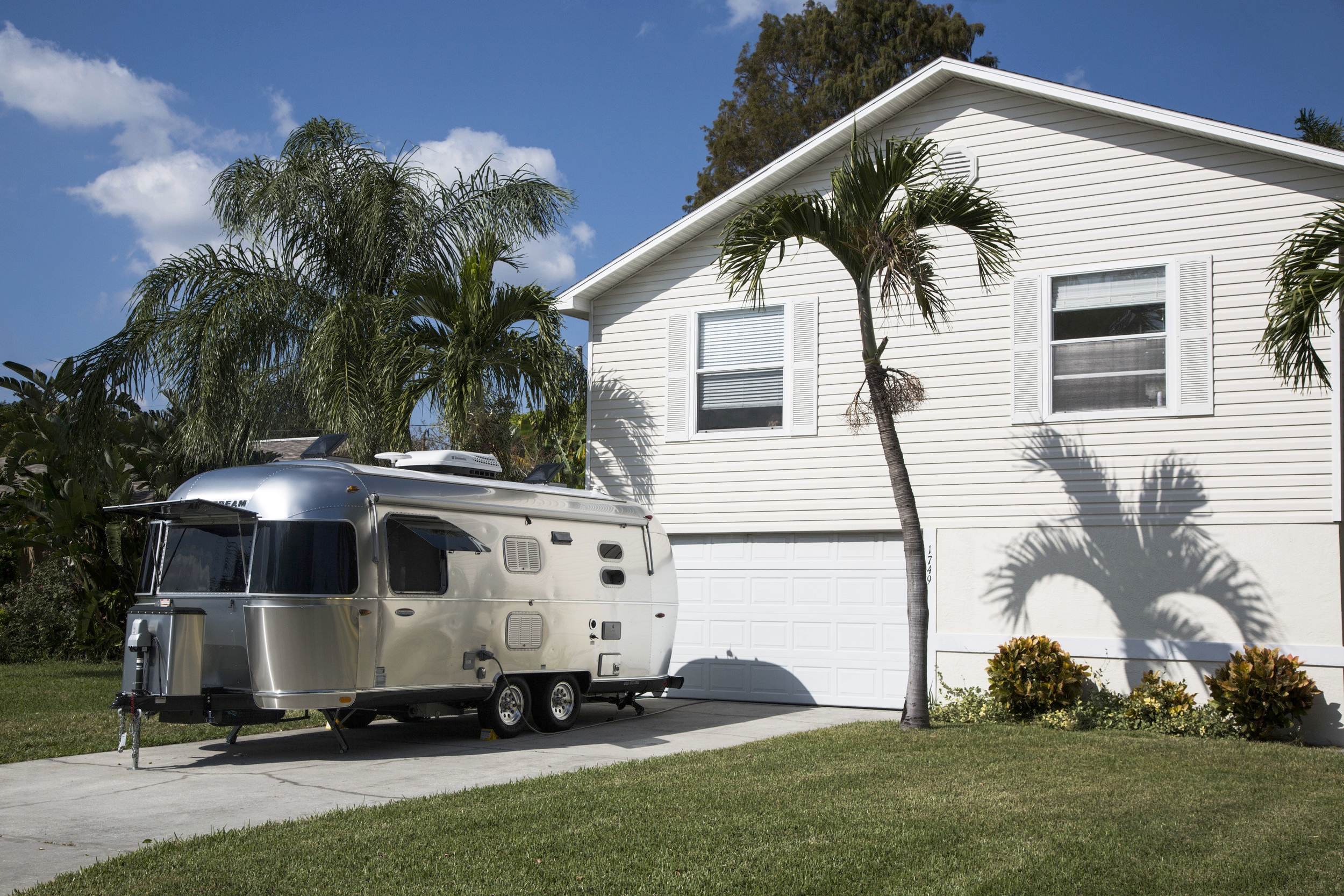 When it's parked on your property, the iconic Airstream is no longer a camper. It's an extra bedroom and bathroom for your overnight guests. And it's delivered to your home with the amenities of a comfortable hotel room.