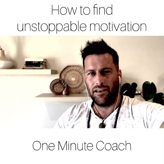 How to find UNSTOPPABLE motivation ONE MINUTE COACH ⠀⠀⠀⠀⠀⠀⠀⠀⠀ ⠀⠀⠀⠀⠀⠀⠀⠀⠀ ➕ TravisBartonLife.com ➕ Grab your FREE gift in my profile bio 👆🏻 ➕ Helping you rethink the way you live & create a life you love