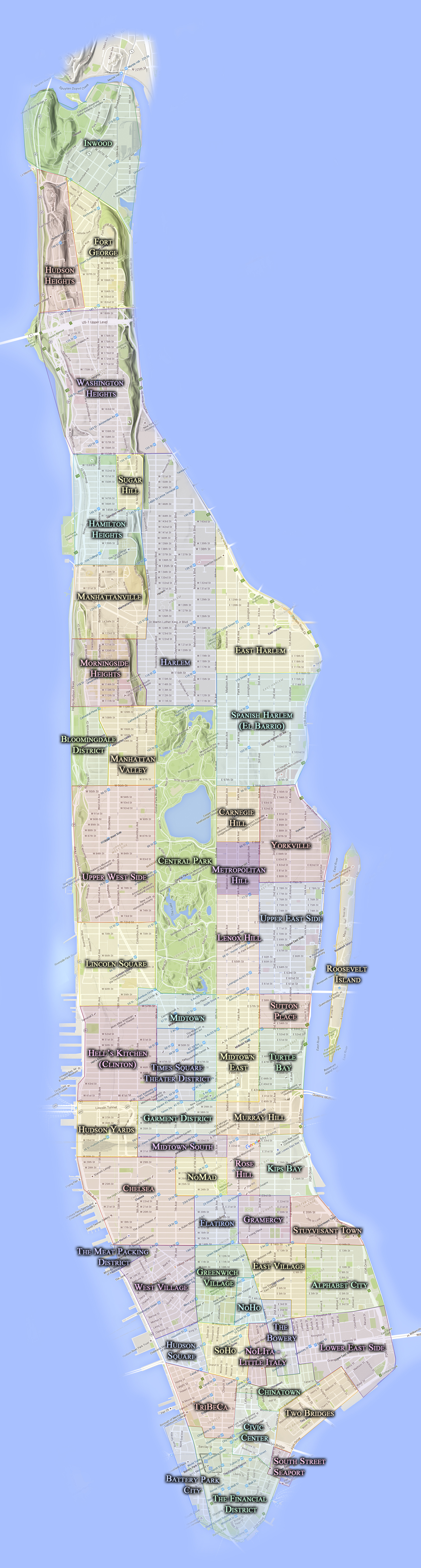 Neighborhoods — CityNeighborhoods.NYC on manhattan bus routes, new york city street grid map, manhattan tv series, manhattan midtown, new york times square hotel map, new york city 1860 map, san francisco tenderloin area map, new york city walking map, manhattan areas, lower east side new york map, new york city times square map, manhattan financial district skyline, manhattan jewelry heist, manhattan satellite, manhattan tumblr, new jersey and staten island map, central park map, new york city boroughs map, manhattan spring, westchester county new york zip code map,