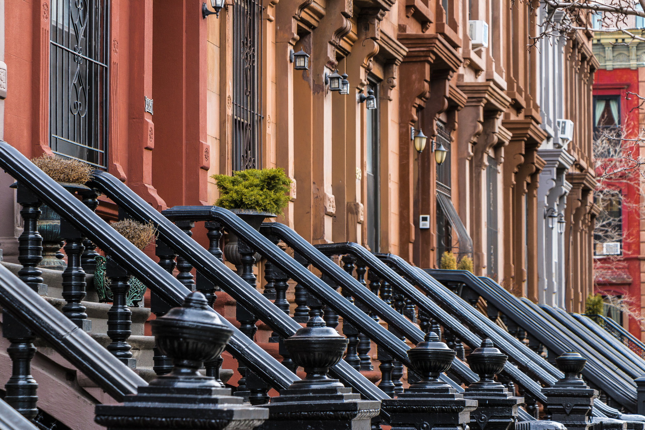 Brownstones and Stoops
