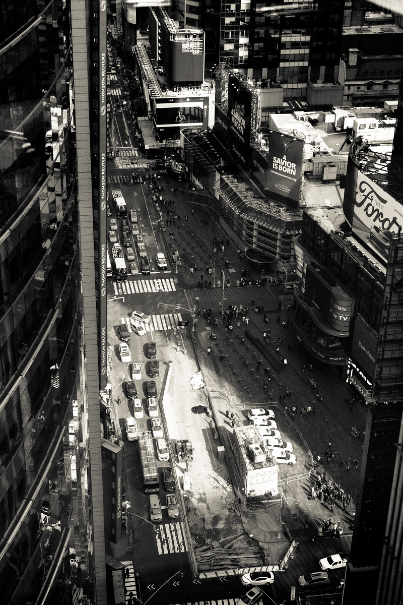 Times Square Sunbeam