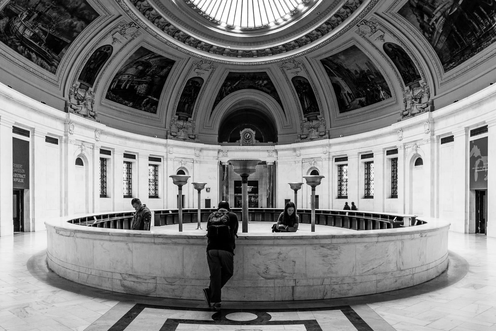 US Custom House Atrium