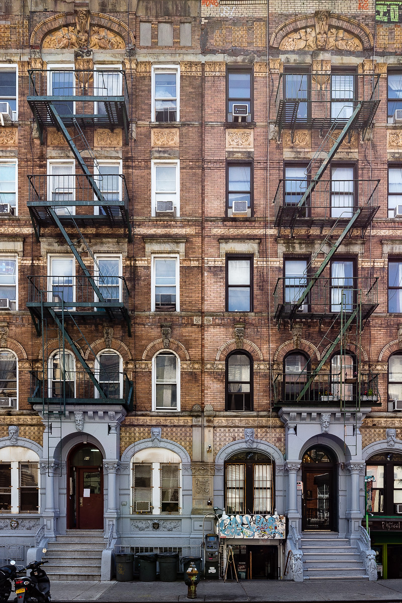 St Marks Place - East Village - NYC