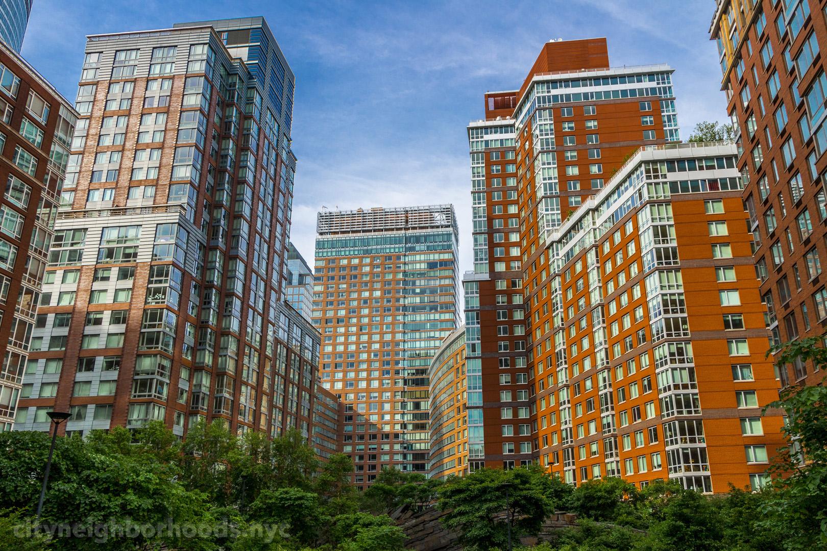 Teardrop Park - Battery Park City - Lower Manhattan - NYC