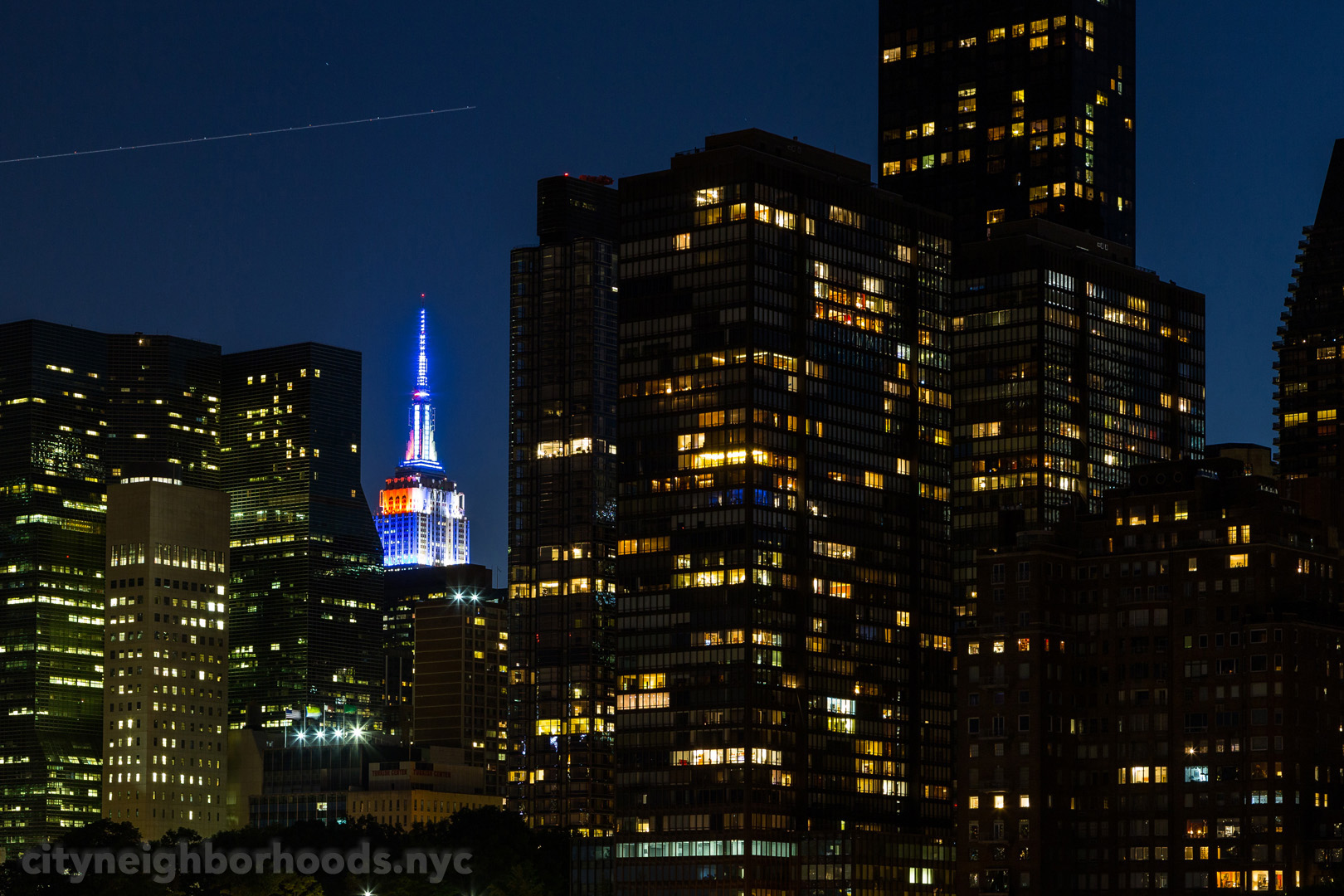 The Empire State Building - From Roosevelt Island - Manhattan - NYC