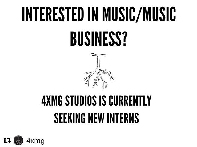#Repost @4xmg with @get_repost ・・・ ITS THAT TIME AGAIN!!! CALLING ANYONE WITH A PASSION FOR MUSIC AND/OR THE MUSIC INDUSTRY ! WE WILL BE HOLDING INTERVIEWS OVER THE COURSE OF THE NEXT FEW WEEKS PLEASE CONTACT @REALMPC_ IF INTERESTED   SHARE THIS POST TO ANYONE THAT WOULD BE A GOOD CANDIDATE   FOR ANY AND ALL INQUIRIES CONTACT @REALMPC_ , DM , EMAIL INFO@4XMG.COM , OR CALL 973-661-4XMG   #4xmg #4xmgstudios  #recordingstudio #recordingstudionj #rehearsalspace #eventspace #creativeincubator #music #musicproducer #musicproduction #musicstudio #photography #videography #editing #workspace #choreography #audio #audioengineer #audioengineering  #mixing #recording #beats #boombap #goodvibesonly #wedoeverything