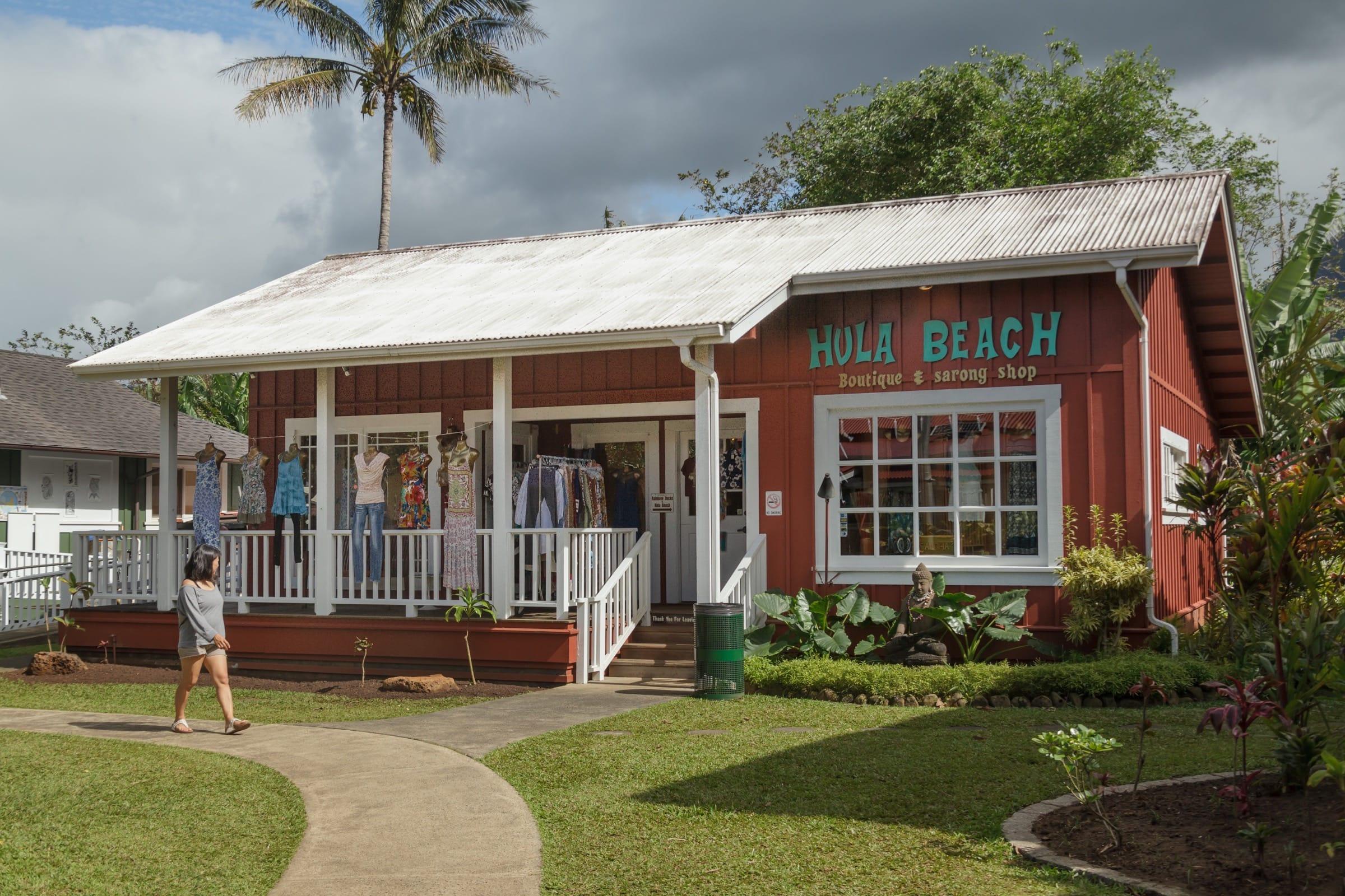 Hula Beach Boutique and Sarong shop