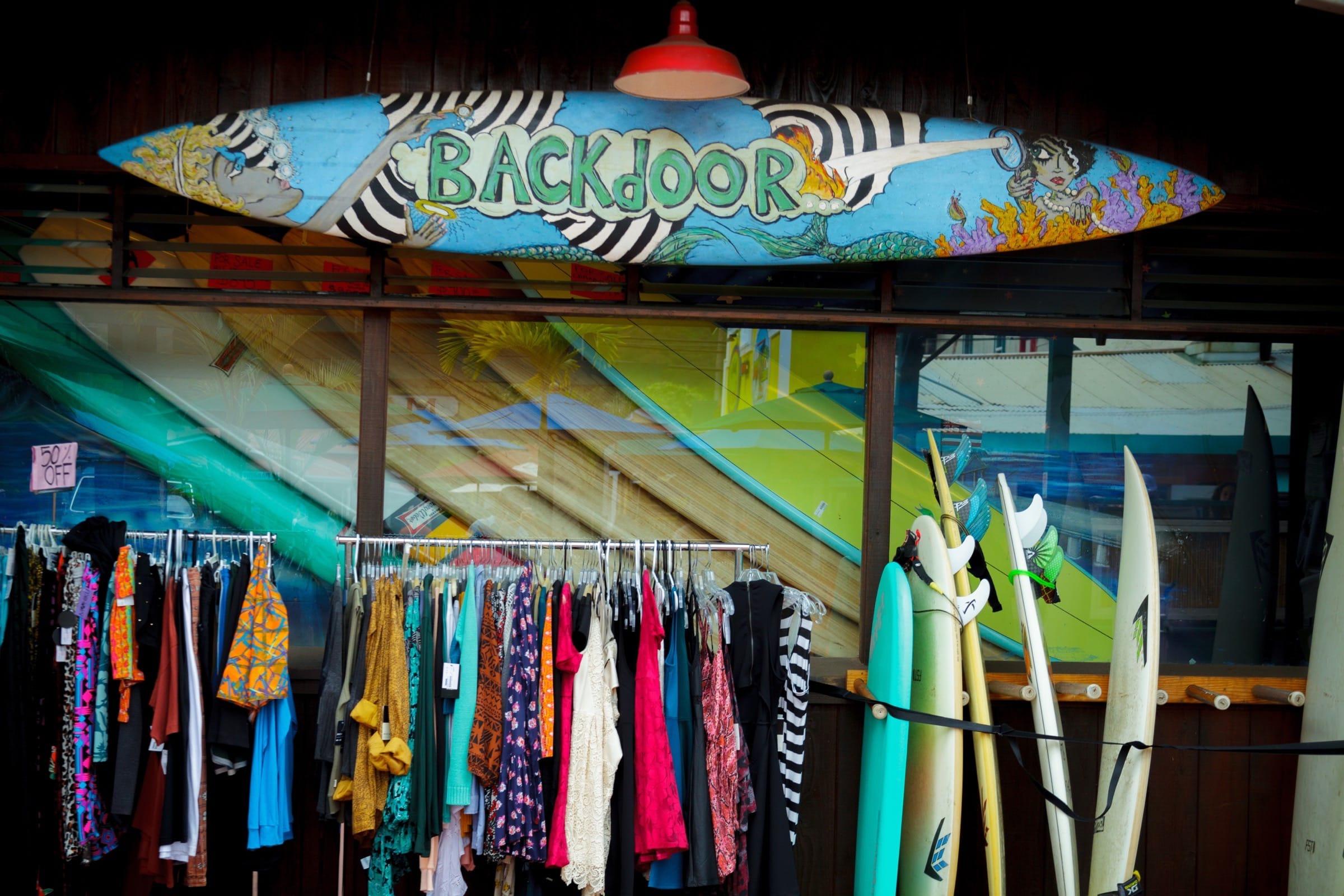 Backdoor Surf Shop