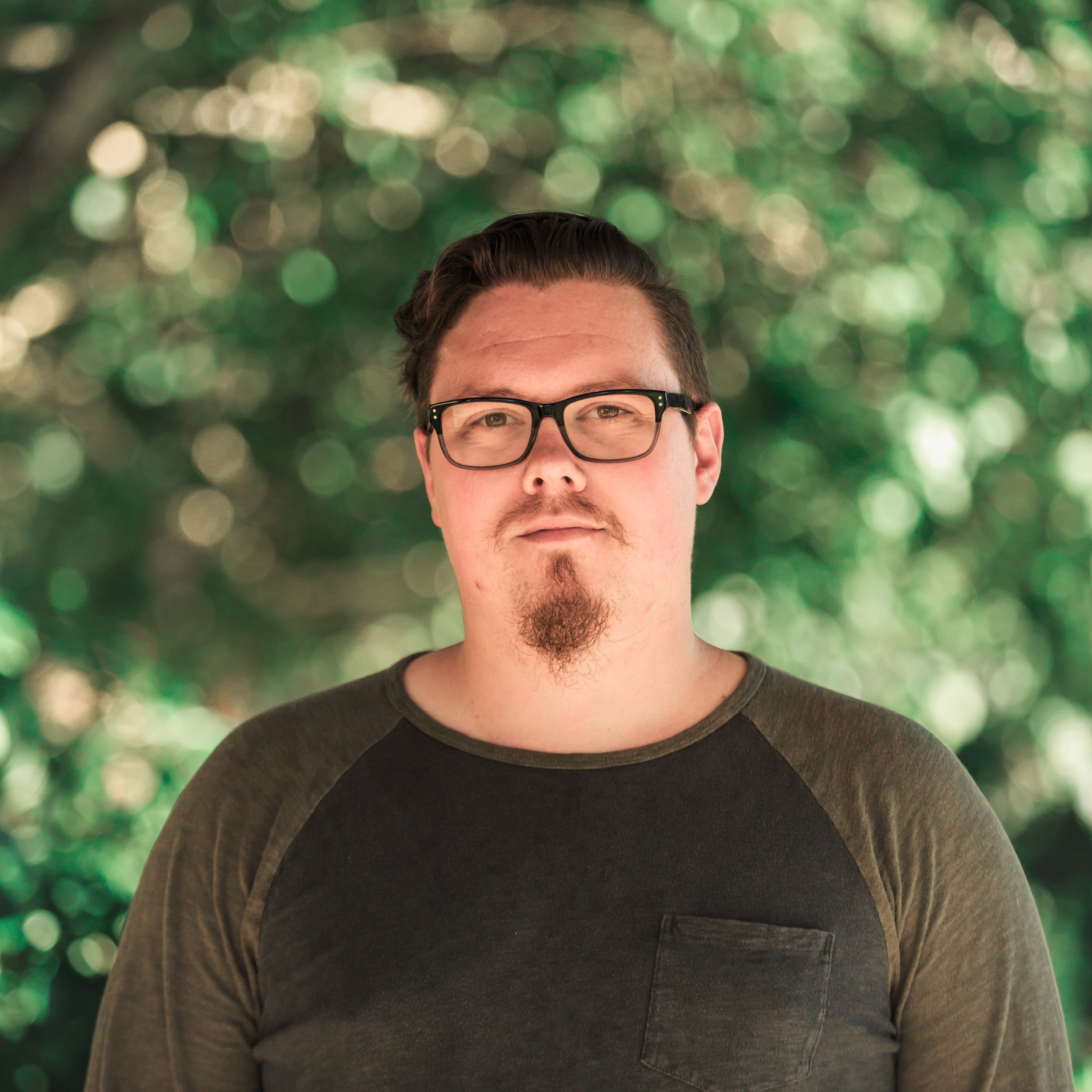 Joel Boyer, Online Campus Pastor   When asked what his favorites are:  Scripture: 1 Thess. 2:12  Ice Cream: Trader Joe's Coffee Flavor  Book: The Screwtape Letters  Bonus: He will be a Dad in 5 weeks!